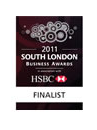 Croydon Business Awards Commended Badge 2011