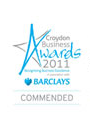 South London Business Awards Finalist Badge 2010