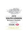 Croydon Business Awards Finalist Badge 2013