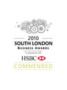 South London Busines Awards Badge Commended 2010