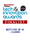 Tech and Innovation Awards Finalist Badge 2019