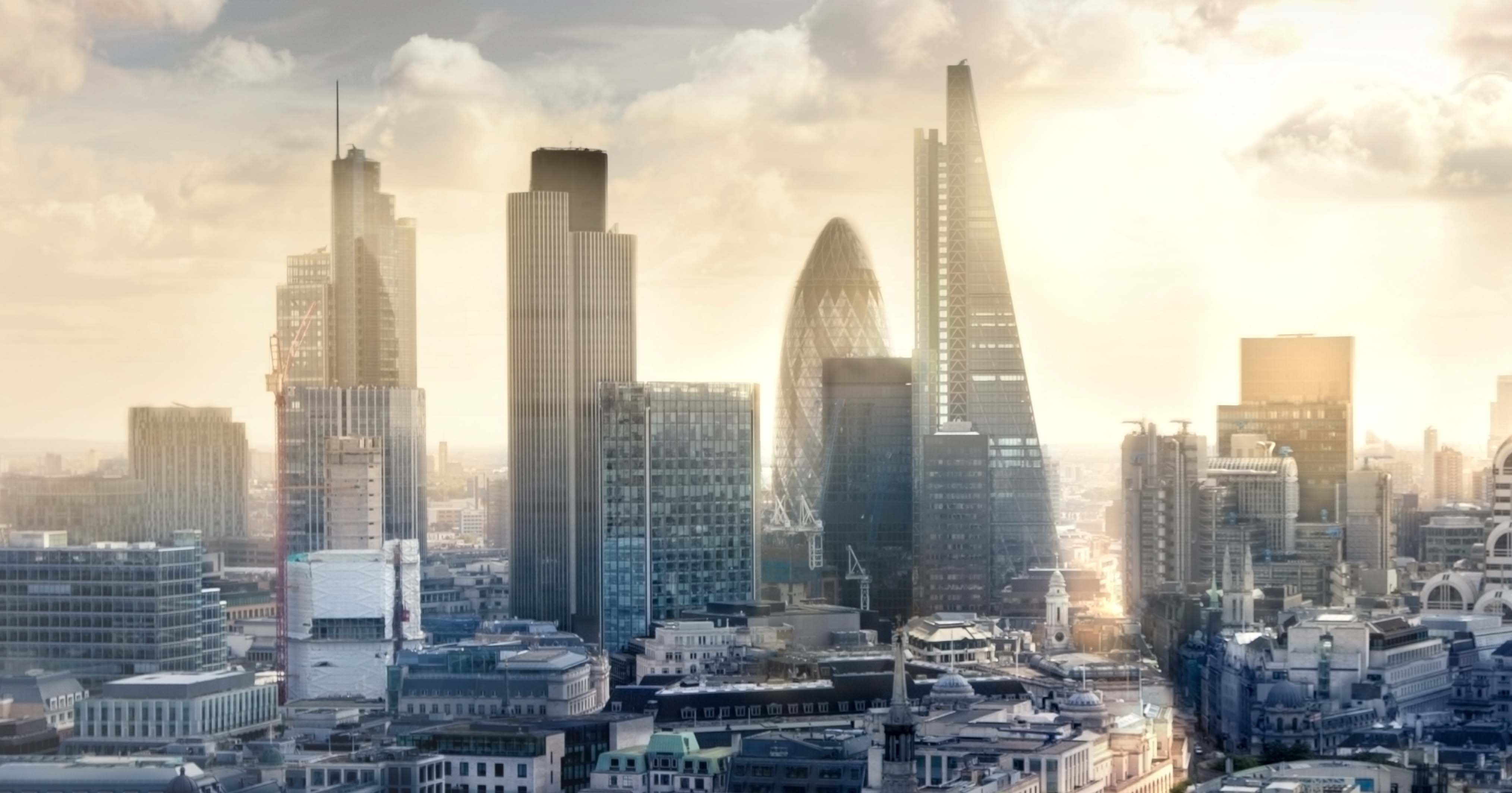 Image of the City of London skyline.